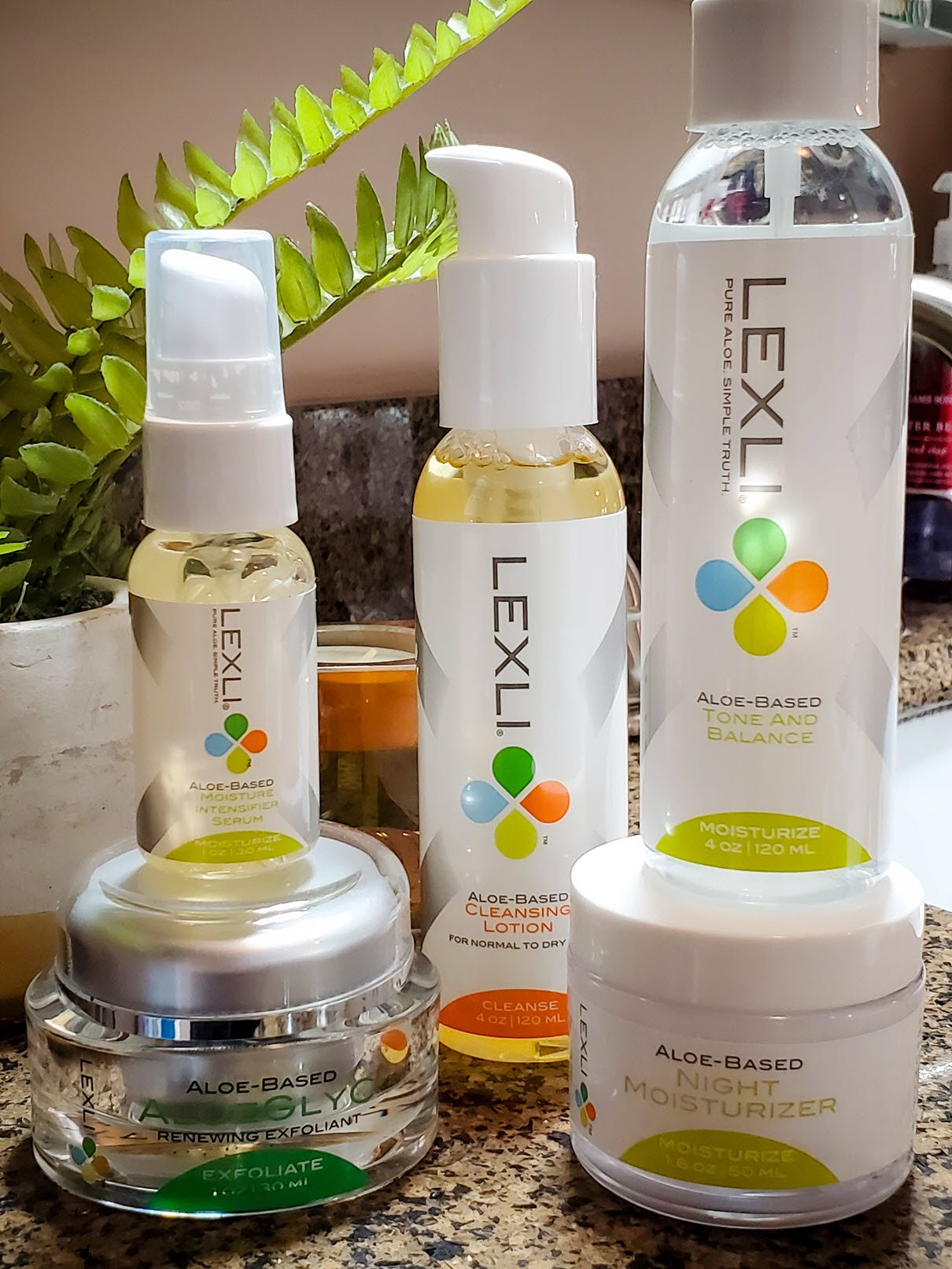 Lexli Skin Care Kit for Dry Skin