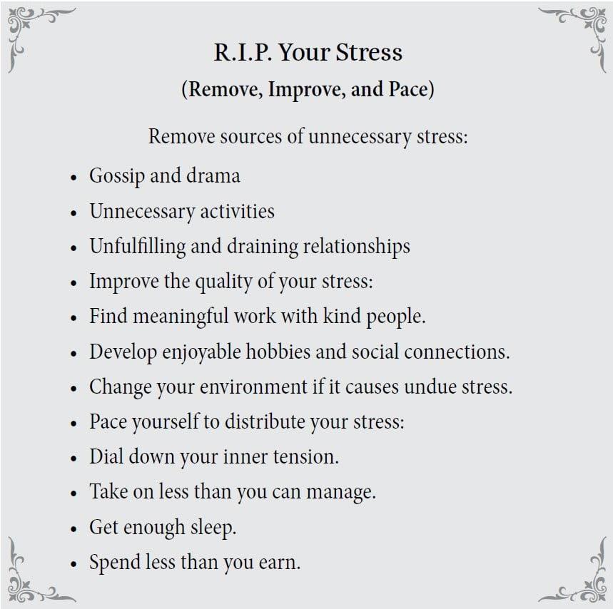 R.I.P stress