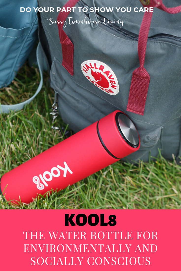 Kool8 The Water Bottle for Environmentally and Socially Conscious - Sassy Townhouse Living