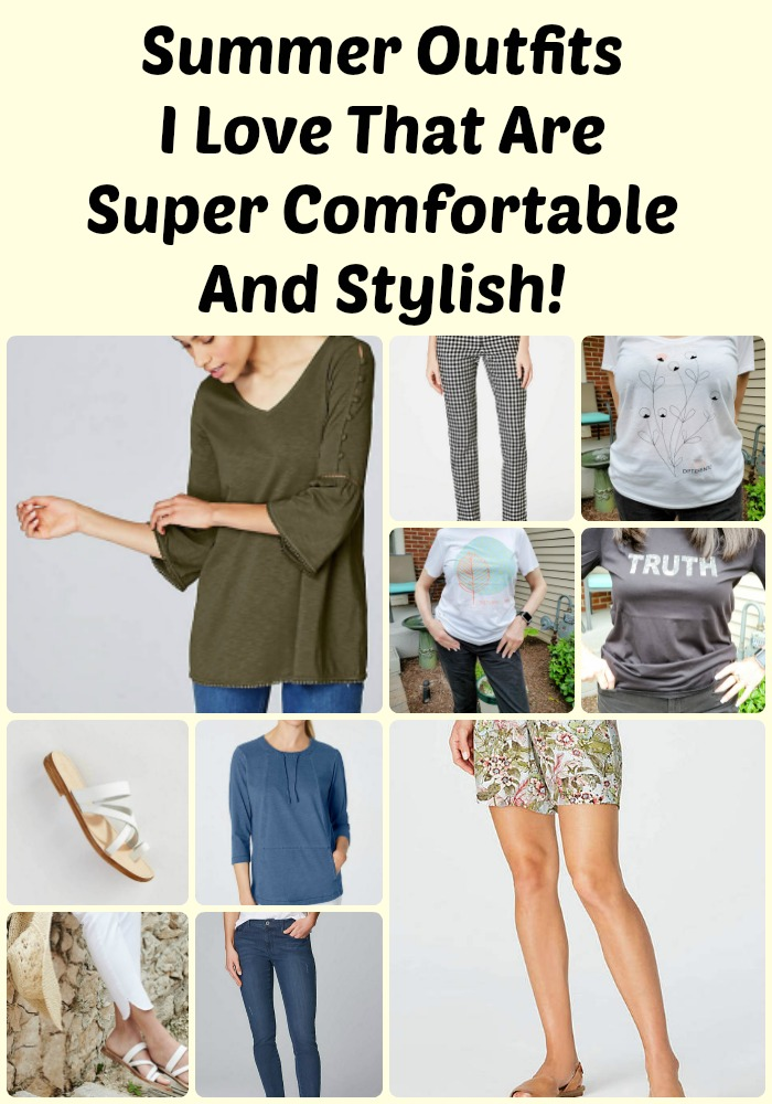 Summer Outfits I Love That Are Super Comfortable And Stylish