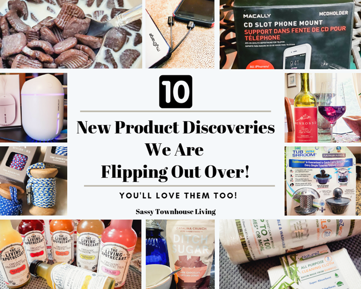 10 New Product Discoveries We Are Flipping Out Over!