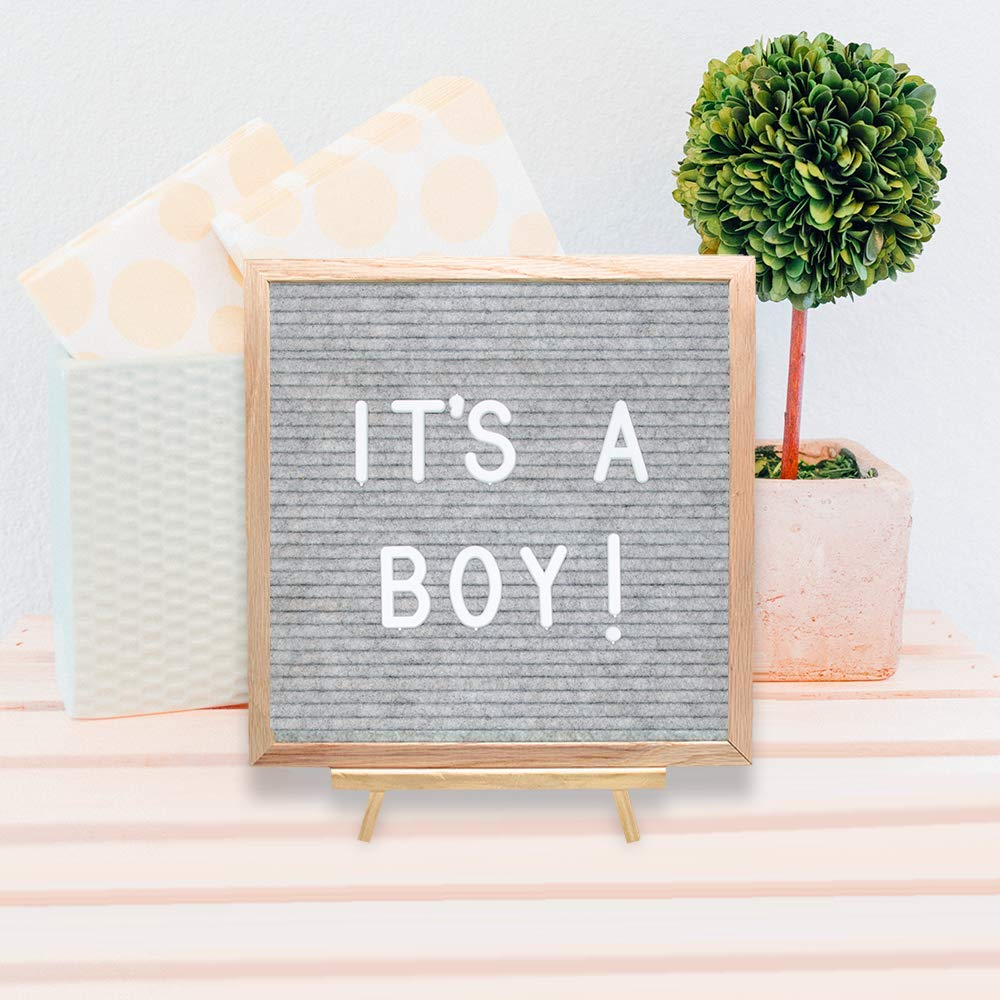 letter board it's a boy sign