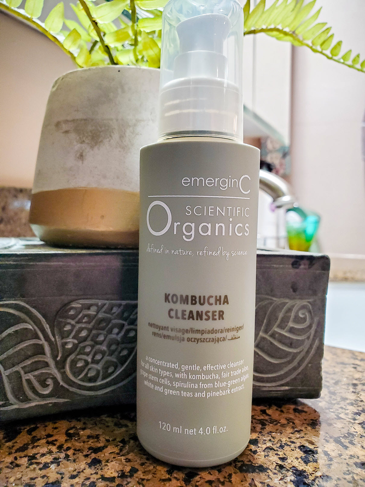 emerginC Scientific Organics Kombucha Cleanser