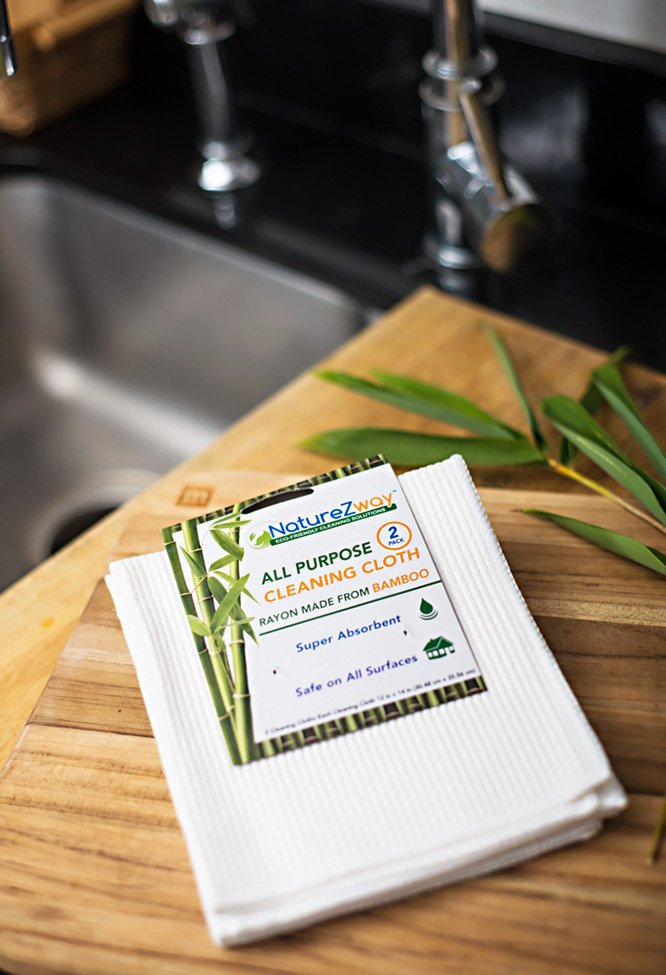 NatureZway Bamboo Cleaning Cloth