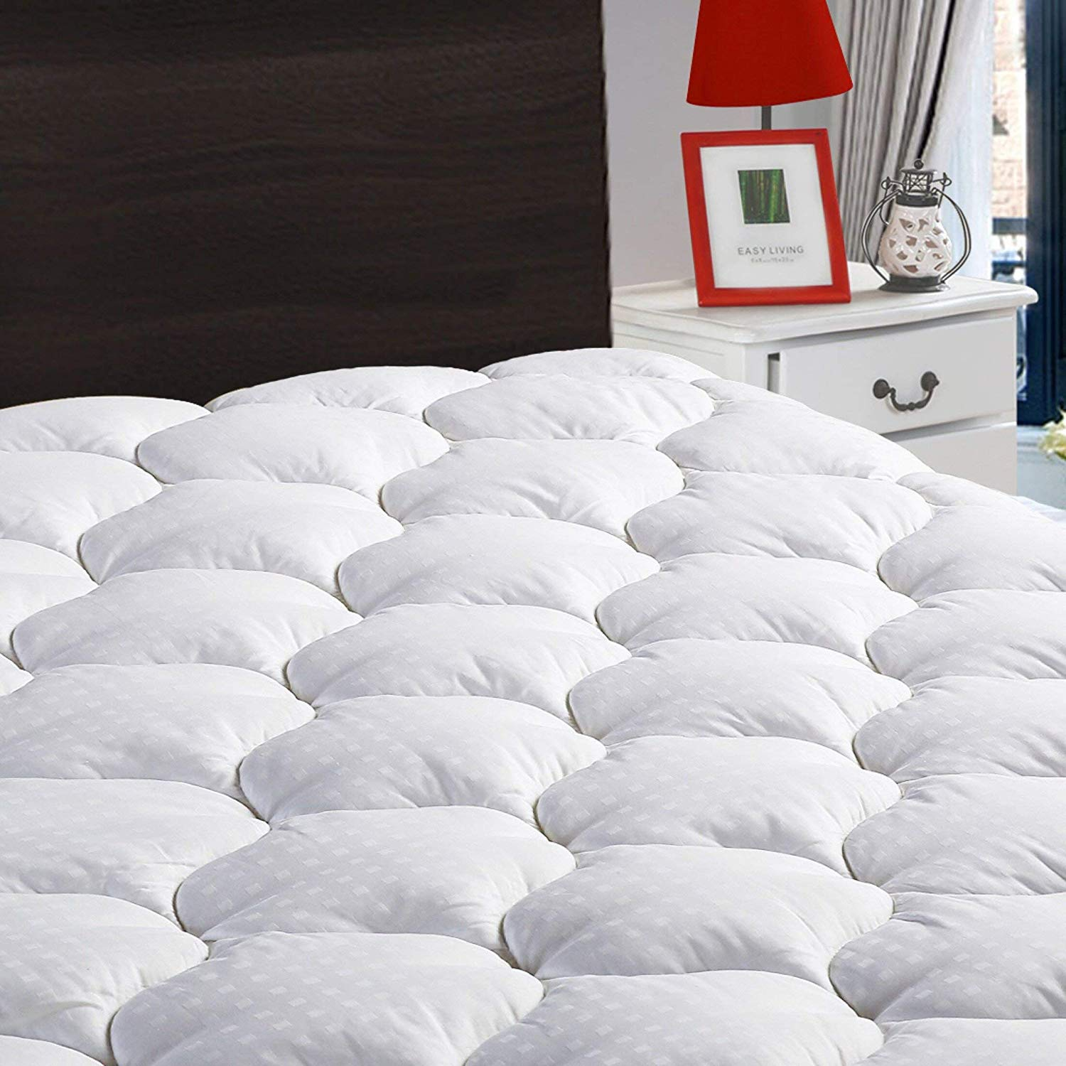 mattress protector with pillow top