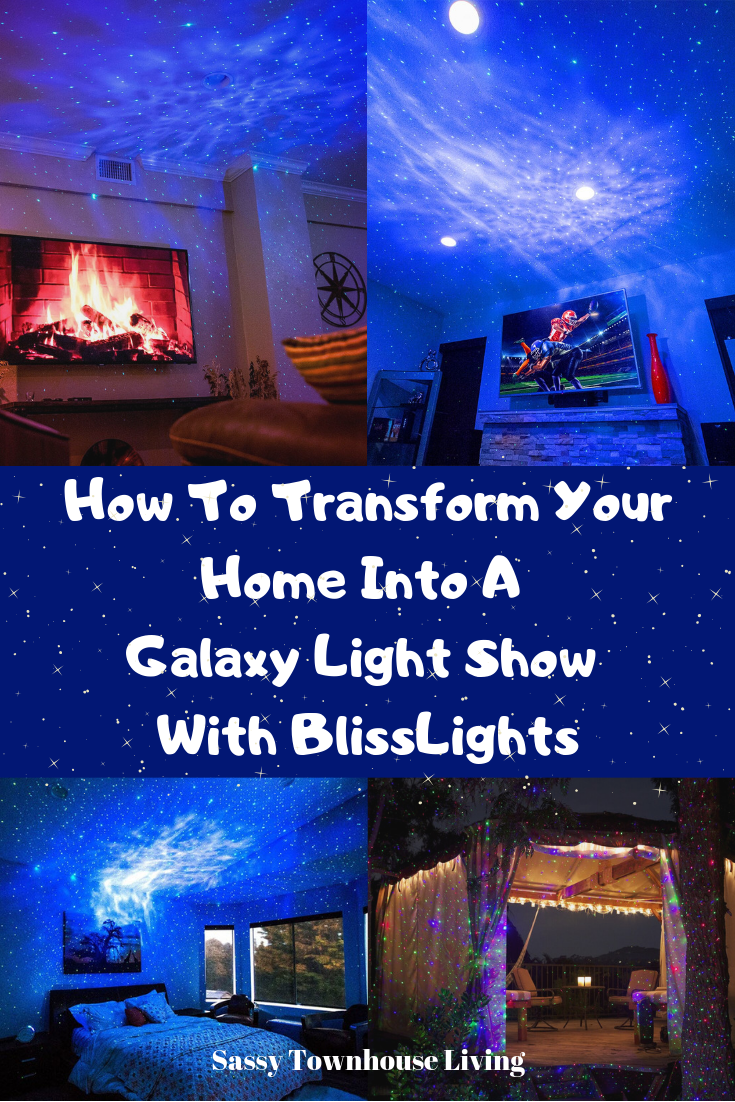 How To Transform Your Home Into A Galaxy Light Show With BlissLights - Sassy Townhouse Living