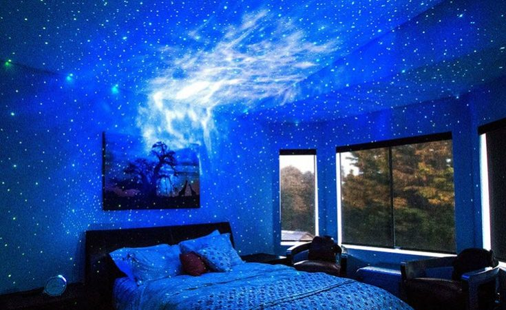 How To Transform Your Home Into A Galaxy Light Show With Blisslights