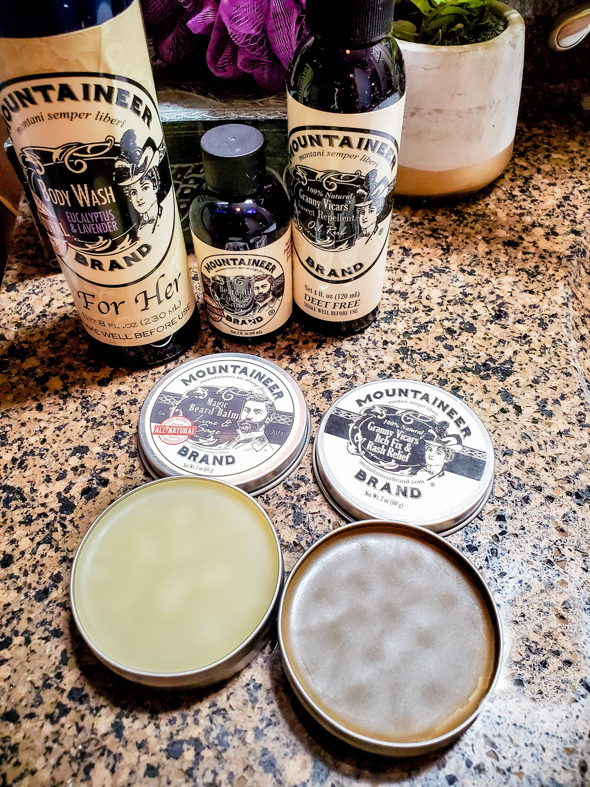 Beard Grooming Care Kit for Men by Mountaineer Brand