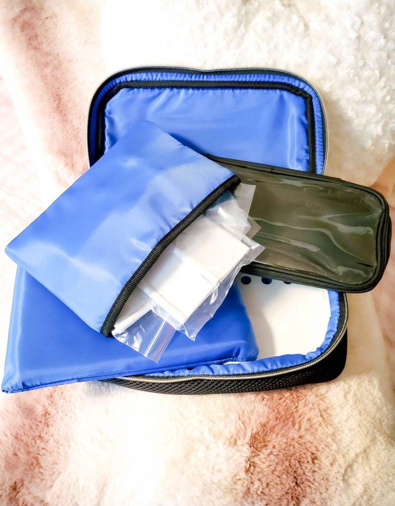 organize your makeup, The Traveler