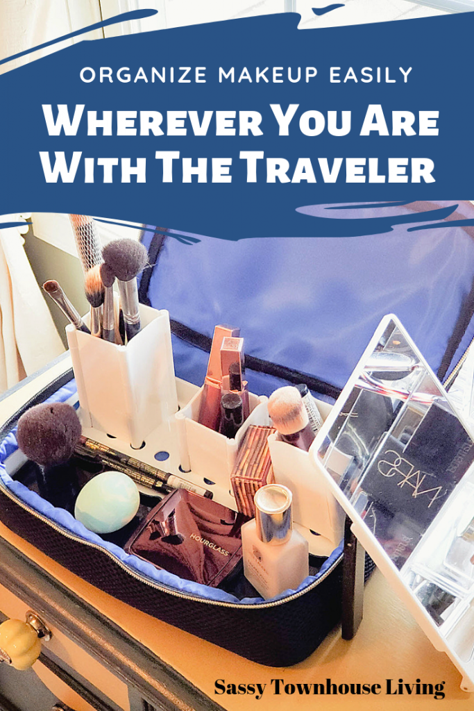 Organize Makeup Easily Wherever You Are With The Traveler - Sassy Townhouse Living