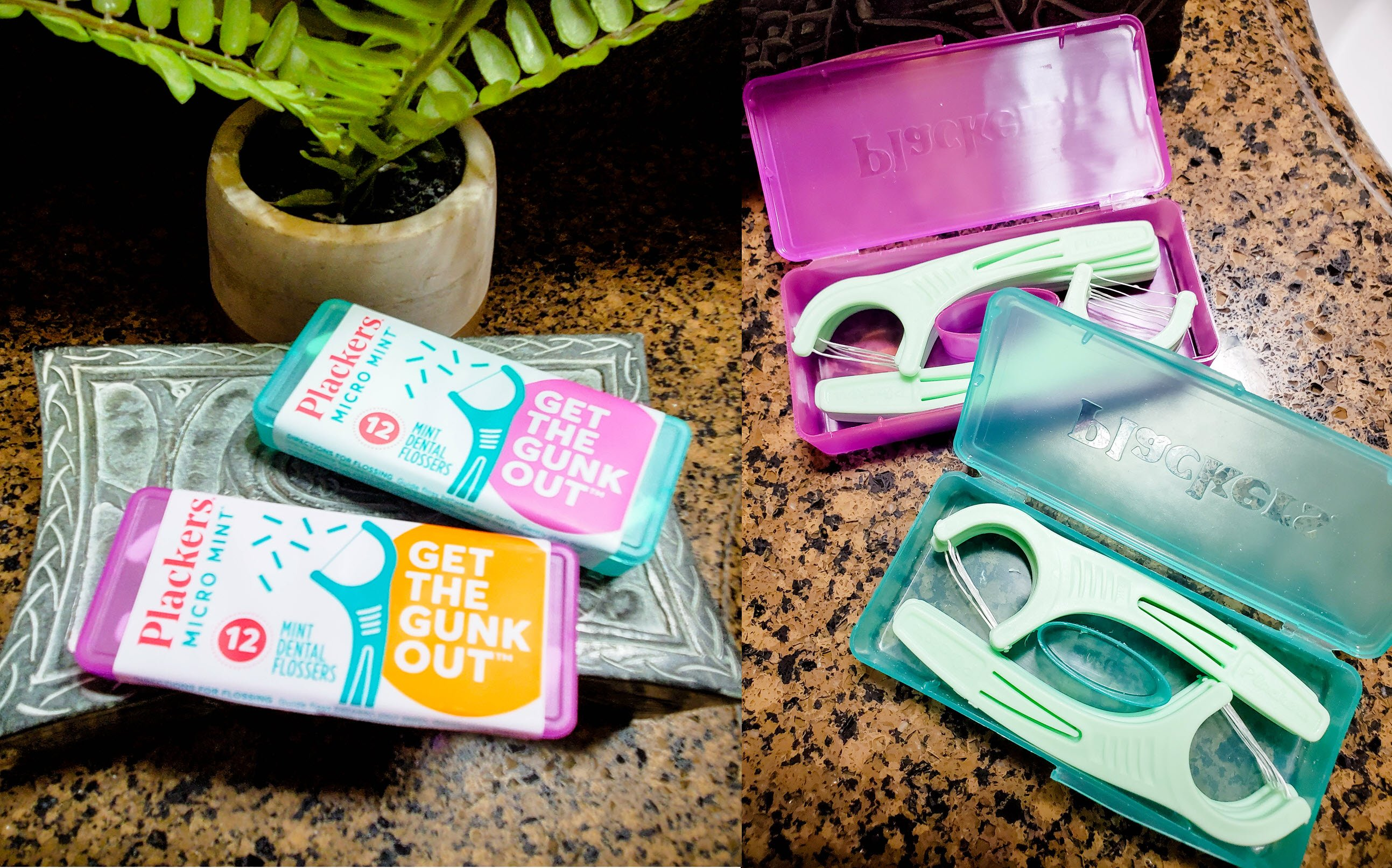 Plackers Micro Mint® Travel Pack Flossers