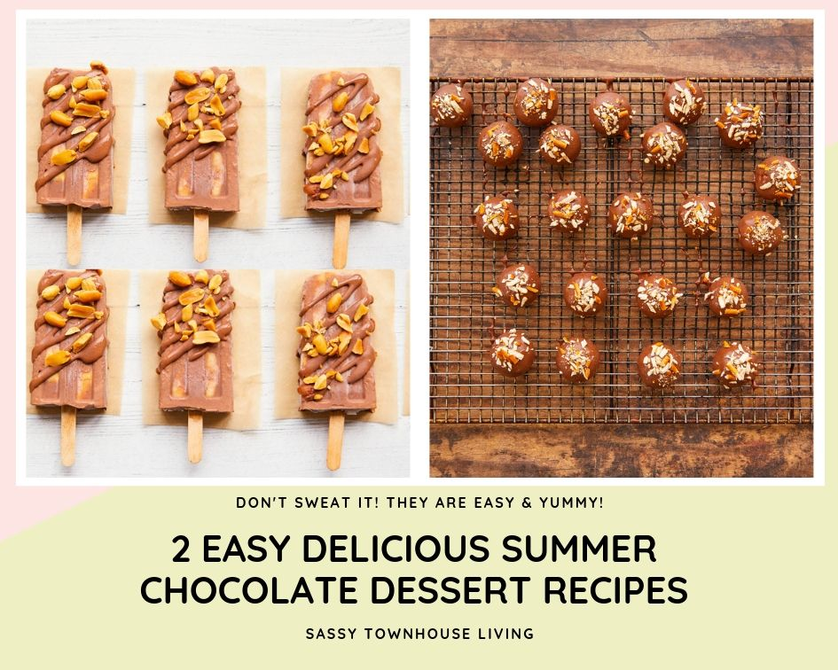 summer chocolate dessert recipes