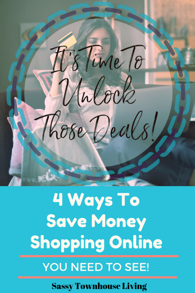 4 Ways To Save Money Shopping Online You Need To See - Sassy Townhouse Living