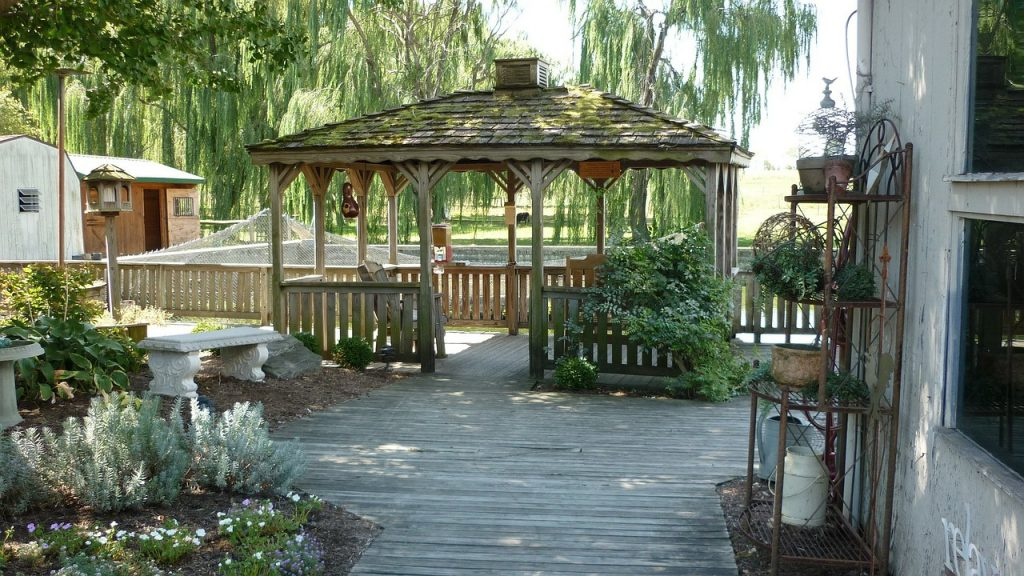 Gazebo In Your Garden