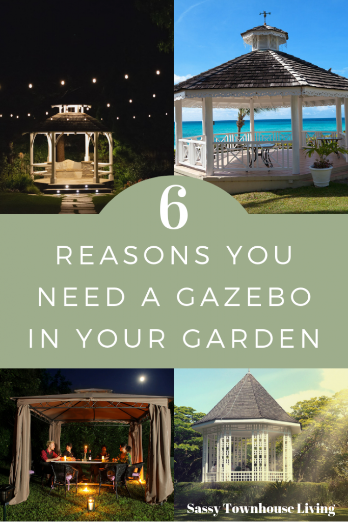7 Reasons You Need A Gazebo In Your Garden-Sassy Townhouse Living