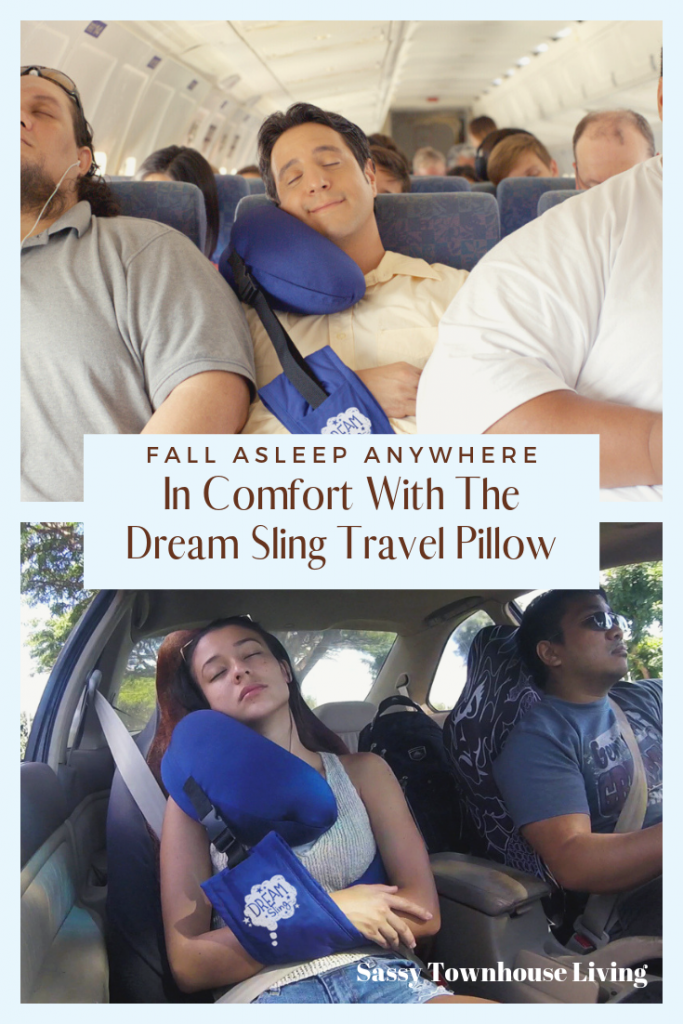 Fall Asleep Anywhere In Comfort With The Dream Sling Travel Pillow - Sassy Townhouse Living