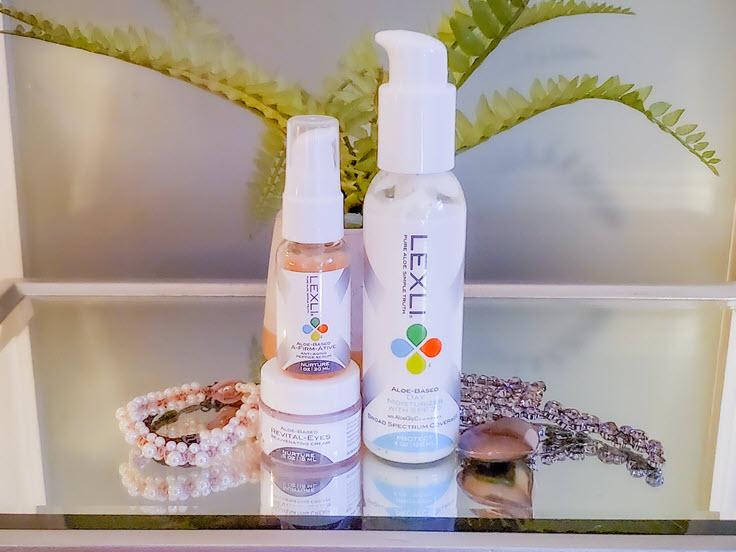 Lexli Skin Care Anti-Aging Perfect Solution Trio