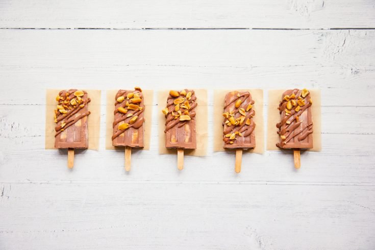 Banana Split Fudgesicles