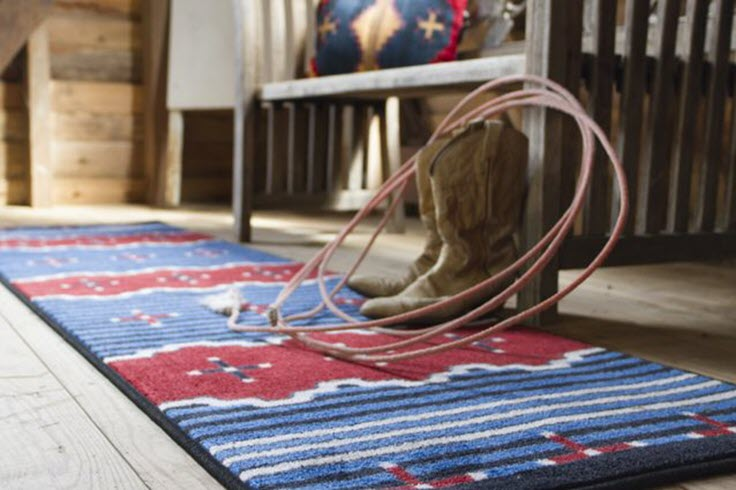 Southwestern Rugs Are Back In Style And Here's Why