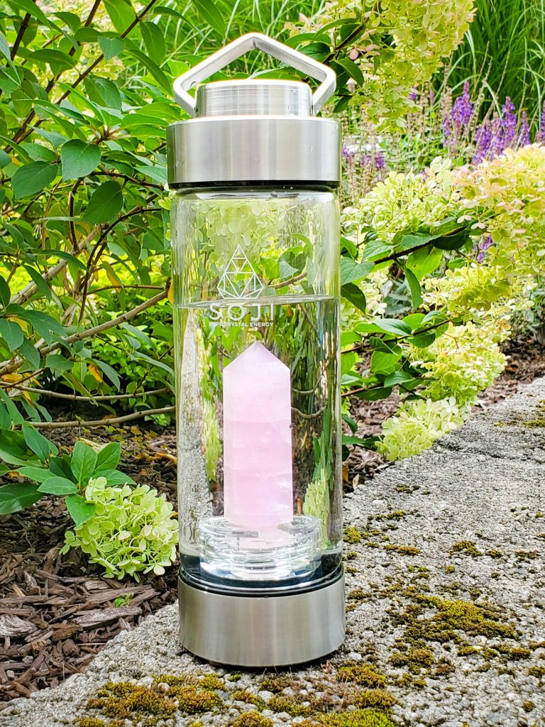 Crystal Infused Bottled Water