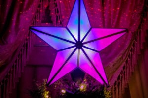 BlissLights Laser Christmas Tree Topper Is Simply Stunning