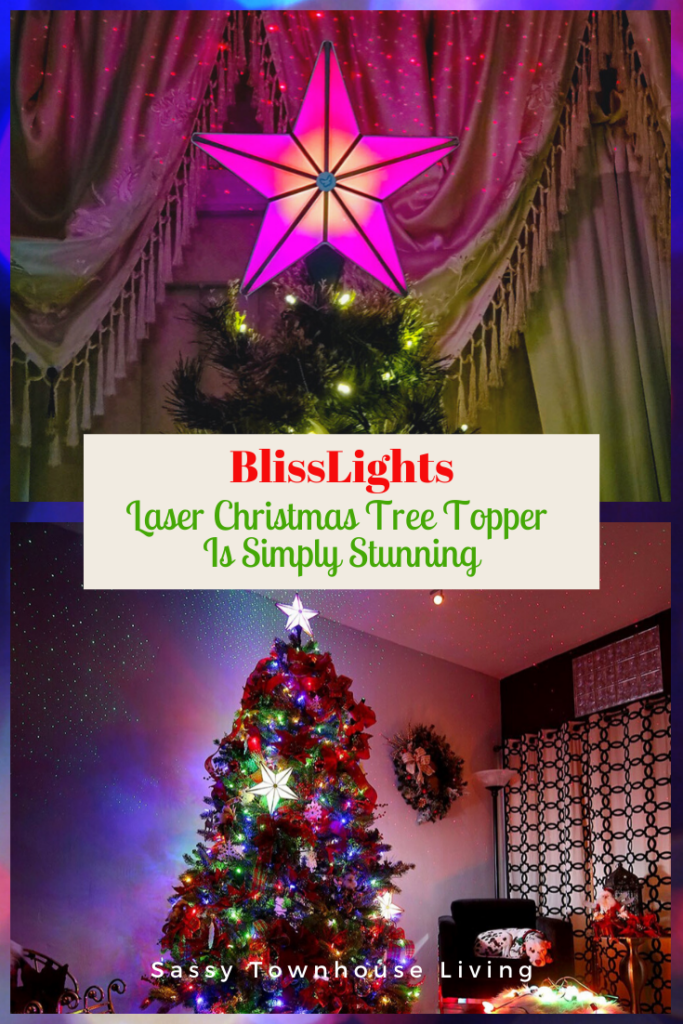 Christmas Tree Topper Is Simply Stunning - Sassy Townhouse Living