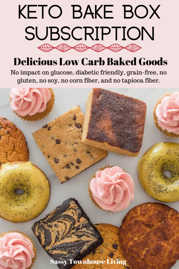 KETO Bake Box Subscription - Delicious Low Carb Baked Goods - Sassy Townhouse Living