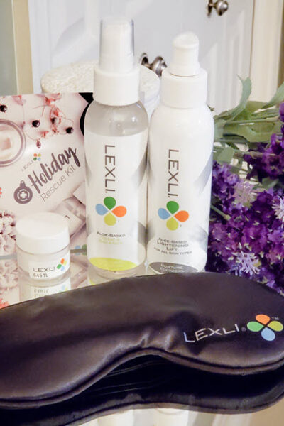 Lexli Skincare Holiday Rescue Kit And Giveaway