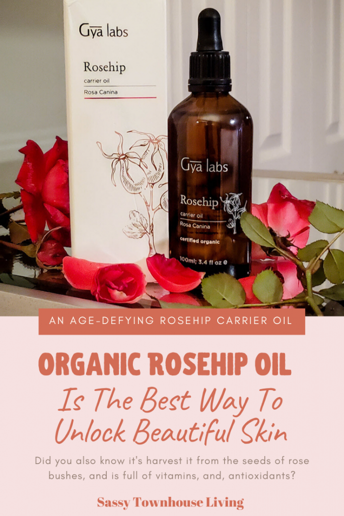 Organic Rosehip Oil Is The Best Way To Unlock Beautiful Skin - Sassy Townhouse Living