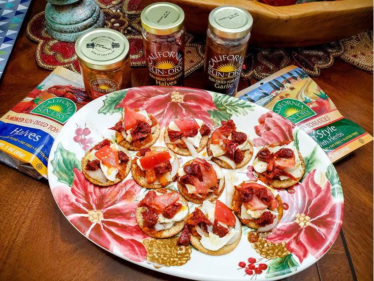 Sun Dried Tomatoes Italian Feast Appetizer