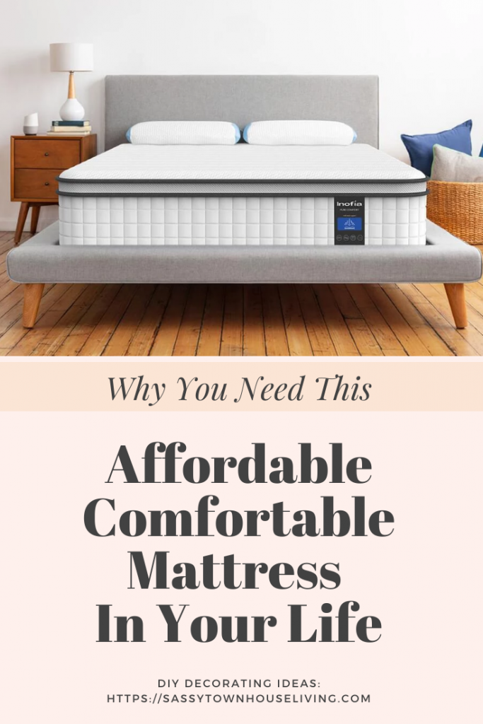 Why You Need This Affordable Comfortable Mattress In Your Life - Sassy Townhouse Living