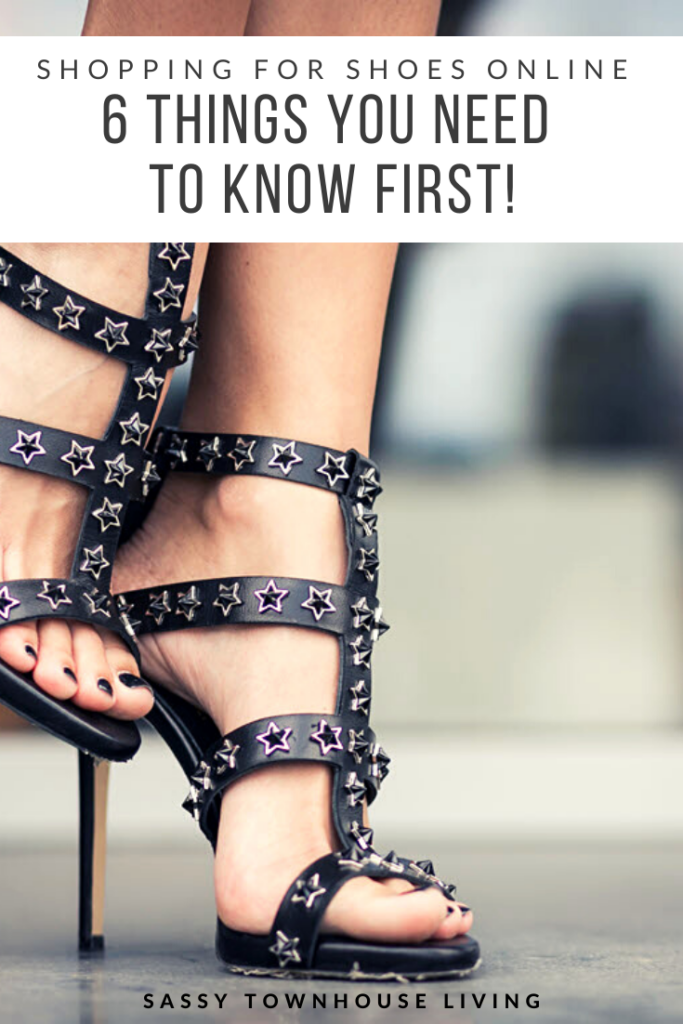 Women's Shoe Shopping Online What You Need To Know First - Sassy Townhouse Living