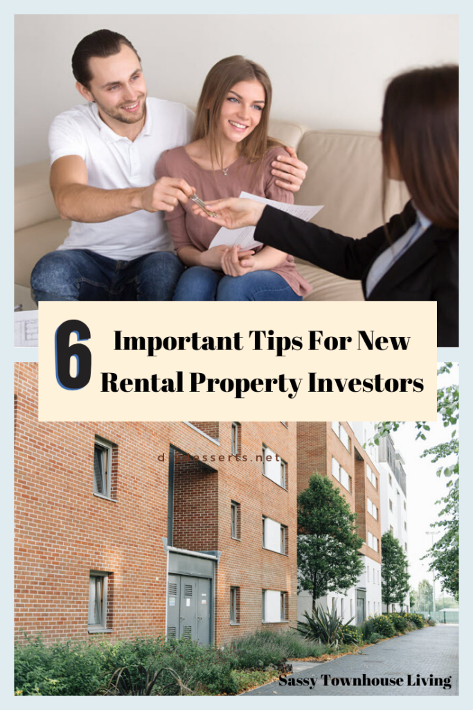 6 Important Tips For New Rental Property Investors - Sassy Townhouse Living