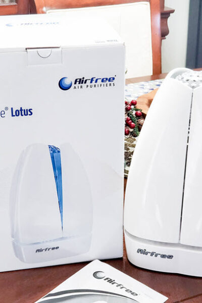 This Airfree Filterless Air Purifier Is Great For Allergy Relief!