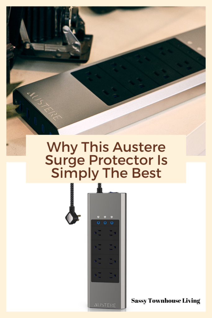 Why This Austere Surge Protector Is Simply The Best - Sassy Townhouse Living