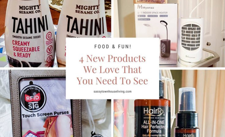 4 New Products We Love That You Need To See