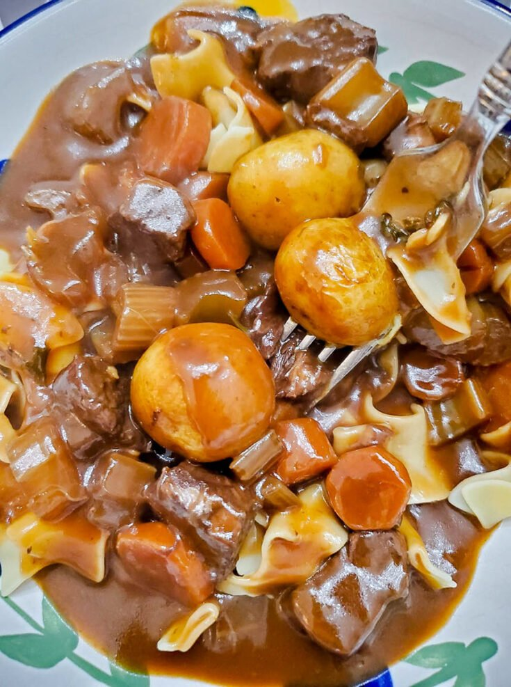 Homemade Hearty Beef Stew Recipe