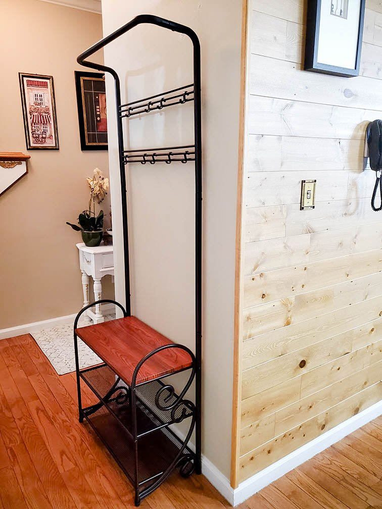 Shoe And Coat Rack Bench entryway