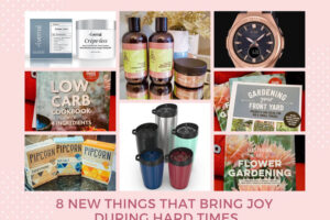 8 Products That Bring Me Joy During Hard Times