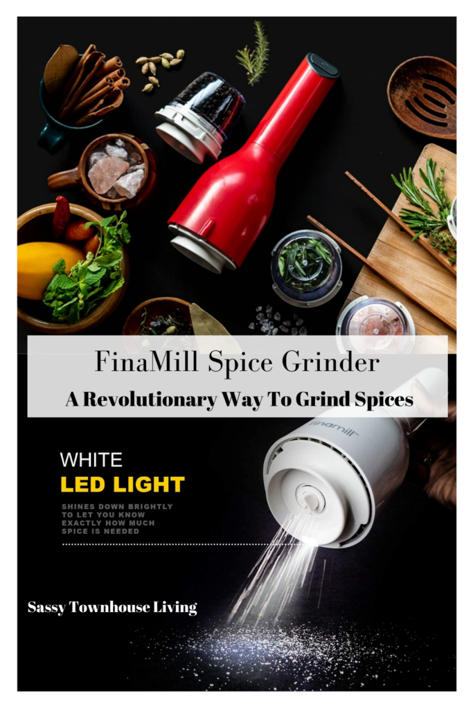 FinaMill Spice Grinder - A Revolutionary Way To Grind Spices - Sassy Townhouse Living