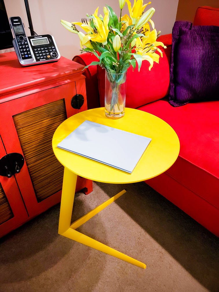 spring decor Side Table