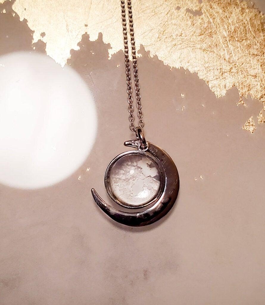 Once A Moon Moon Meteorite