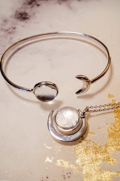 Once A Moon Jewelry Made With Real Moon Meteorite