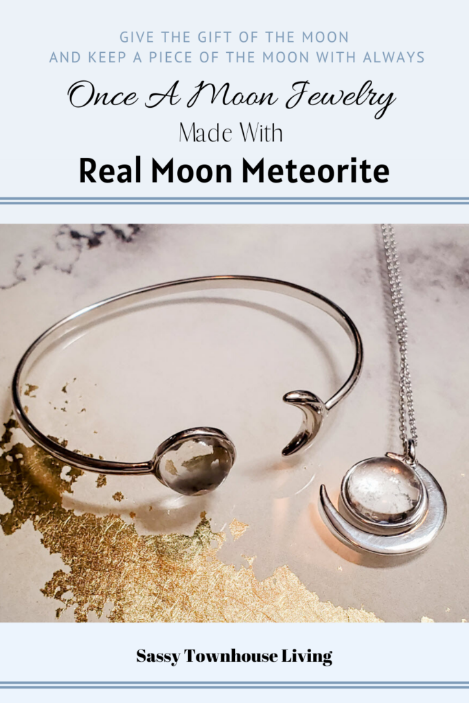 Once A Moon Jewelry Made With Real Moon Meteorite - Sassy Townhouse Living