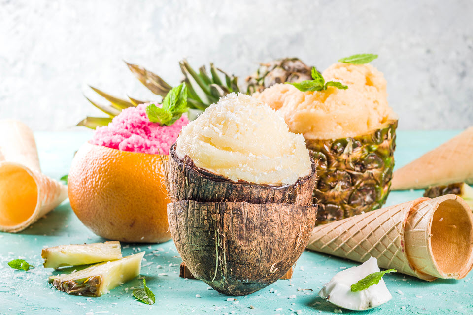 Unique Ice Cream Flavors Outdoor Party