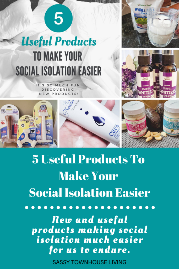 5 Useful Products To Make Your Social Isolation Easier - Sassy Townhouse Living