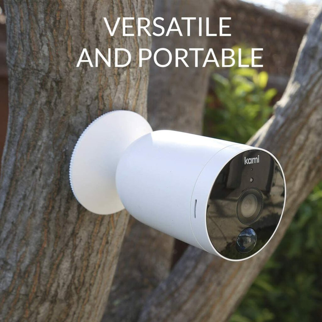 Home Security Kami Wire-Free Outdoor Camera
