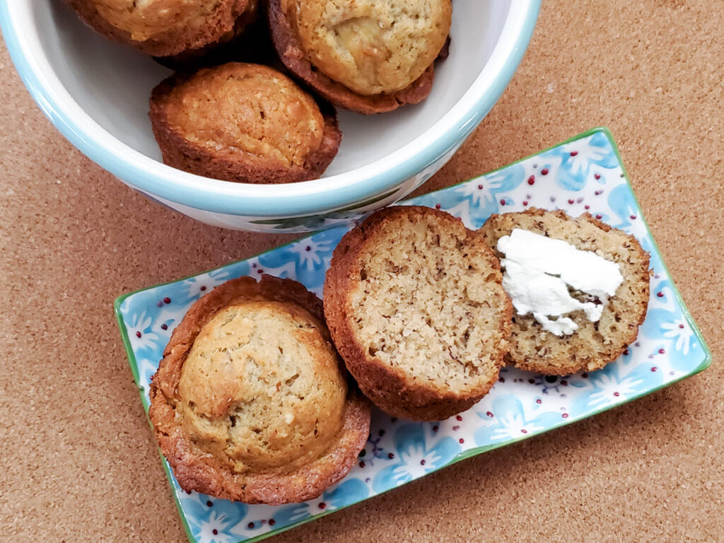 Banana Nut Muffins Easy Recipe