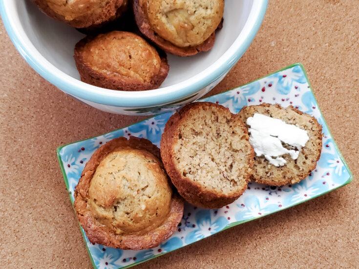 Banana Nut Muffins Easy Recipe