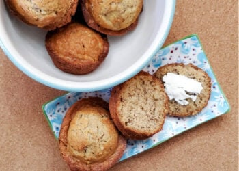 Banana Nut Muffins - You Need To Make This Easy Recipe